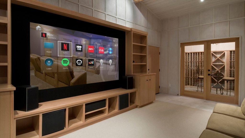 smart home media room